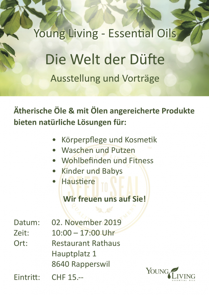 Einladung Young Living
